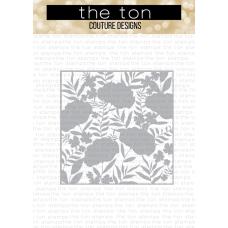 The Ton - Peony Print Coordinating Die