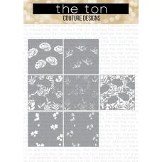 The Ton - Peony Print Layering Stencils