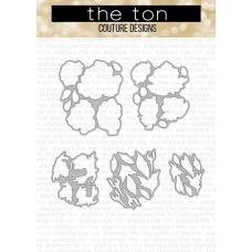 The Ton - Radiant Roses Layering Dies