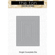 The Ton - Rectangle A2 Frames Slim Borders Coverplate Die