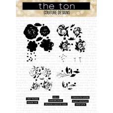 The Ton - Rose Labels