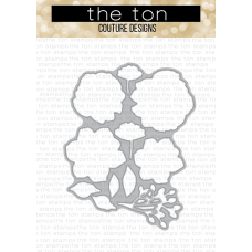 The Ton - Rose Labels Coordinating Die