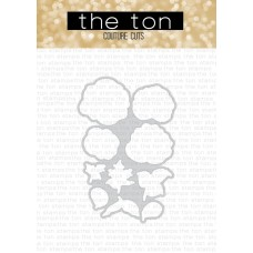 The Ton - Rose Patch Coordinating Die