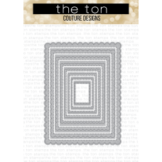 The Ton - Scalloped A2 Nested Dies