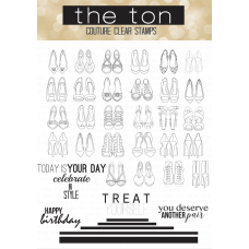 The Ton - Shoe Wardrobe Outlined