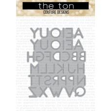 The Ton - Skinny Alphas Coverplate Die