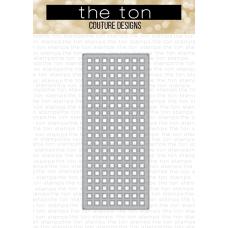 The Ton - Slimline Grid Coverplate Die