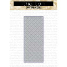The Ton - Slimline Quilted Coverplate Die