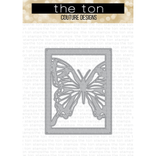 The Ton - Swallowtail Butterfly Coverplate Die