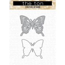 The Ton - Swallowtail Butterfly Layering Dies