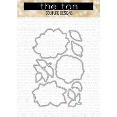 The Ton - Wild Blooms Coordinating Die