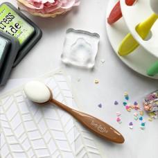 Time For Tea Designs - Beautiful Blender Brush - Large (Chocolate)