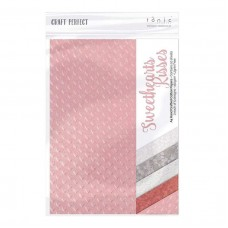 Tonic Studios - Craft Perfect - Specialty Paper - Sweethearts Kisses (150 gsm A4 - 10 sheets)