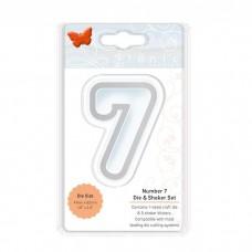 Tonic Studios - Number 7 Die & Shaker Set