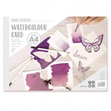 Craft Perfect - Watercolour Card - A4 - 15 sheets