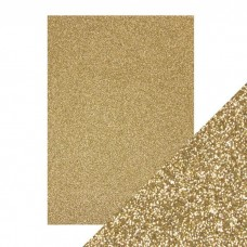 Tonic Studios - Craft Perfect - Glitter Card - Gold Dust (250 gsm A4 - 5 sheets)