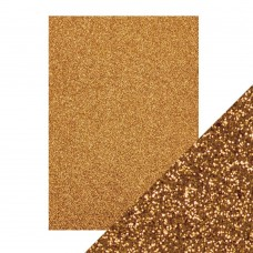 Tonic Studios - Craft Perfect - Glitter Card - Welsh Gold (250 gsm A4 - 5 sheets)