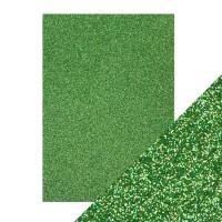 Tonic Studios - Craft Perfect - Glitter Card - Lucky Shamrock (250 gsm A4 - 5 sheets)