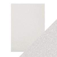 Tonic Studios - Craft Perfect - Glitter Card - Sugar Crystal (250 gsm A4 - 5 sheets)