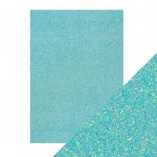 Tonic Studios - Craft Perfect - Glitter Card - Tropical Tide (250 gsm A4 - 5 sheets)