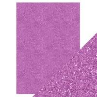 Tonic Studios - Craft Perfect - Glitter Card - Berry Fizz (250 gsm A4 - 5 sheets)