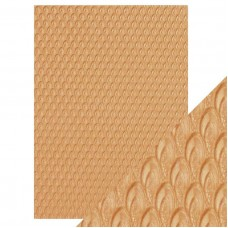 Tonic Studios - Craft Perfect - Specialty Paper - Golden Scales (150 gsm A4 - 5 sheets)