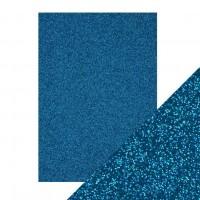 Tonic Studios - Craft Perfect - Glitter Card - Midnight Topaz (250 gsm A4 - 5 sheets)