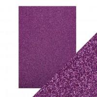 Tonic Studios - Craft Perfect - Glitter Card - Nebula Purple (250 gsm A4 - 5 sheets)