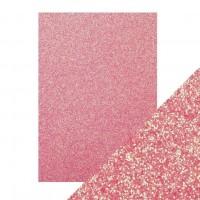 Tonic Studios - Craft Perfect - Glitter Card - Opulent Orchid (250 gsm A4 - 5 sheets)