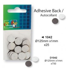 Vaessen Creative - Magnet with Adhesive Strip 1.25 cm (25 pieces)