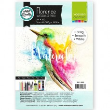 Florence - Watercolor Paper 300g - Smooth - White (10 A4 sheets)