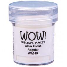 WOW! Embossing Powder WA01R - Regular - Clear Gloss