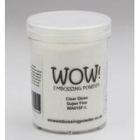 WOW! Embossing Powder WA01SFL - Super Fine - Clear Gloss (large)
