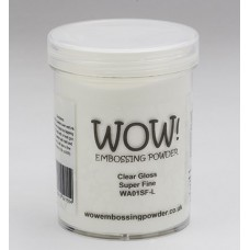 WOW! Embossing Powder WA01SFL - Super Fine - Clear Gloss (large)