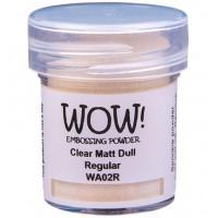 WOW! Embossing Powder WA02R - Regular - Clear Matt Dull