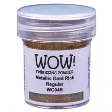 WOW! Embossing Powder WC04R - Regular - Metallic Gold Rich