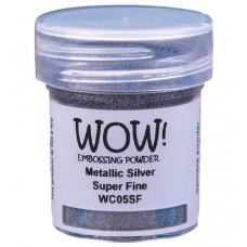 WOW! Embossing Powder WC05SF - Super Fine - Metallic Silver