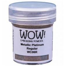 WOW! Embossing Powder WC06R - Regular - Metallic Platinum