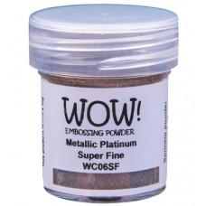 WOW! Embossing Powder WC06SF - Super Fine - Metallic Platinum