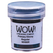 WOW! Embossing Powder WH00R - Regular - Primary Ebony