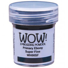 WOW! Embossing Powder WH00SF - Super Fine - Primary Ebony