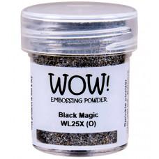 WOW! Embossing Powder WL25X - Black Magic