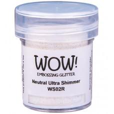 WOW! Embossing Glitter WS02R - Regular - Neutral Ultra Shimmer
