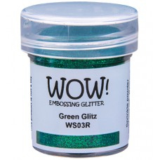WOW! Embossing Glitter WS03R - Regular - Green Glitz