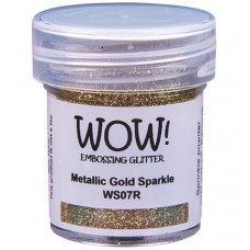 WOW! Embossing Glitter WS07R - Regular - Metallic Gold Sparkle