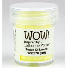 WOW! Embossing Glitter WS287R - Regular - Touch Of Lemon