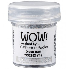 WOW! Embossing Glitter WS295X - Disco Ball
