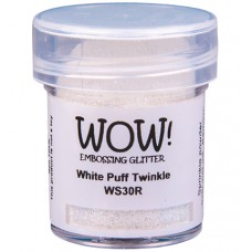 WOW! Embossing Glitter WS30R - Regular - White Puff Twinkle