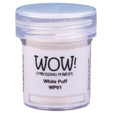 WOW! Embossing Powder WP01UH - Ultra High - White Puff