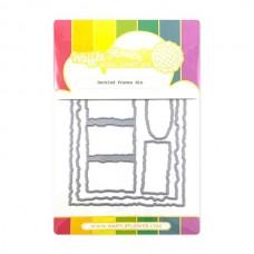 Waffle Flower - Deckled Frames Die